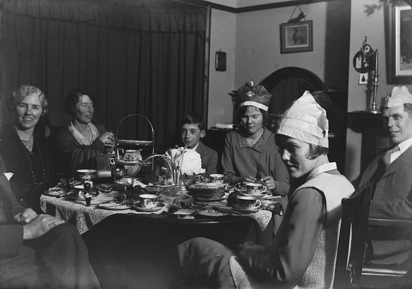 Table「English Christmas Tea Party」:写真・画像(15)[壁紙.com]