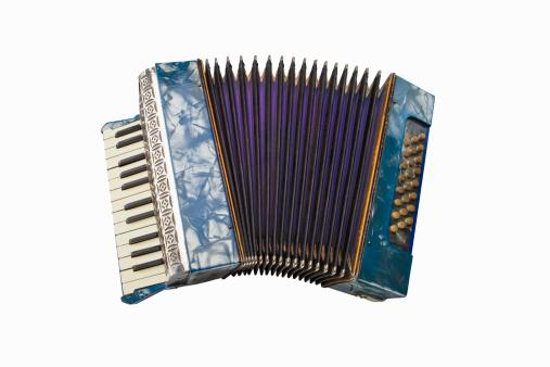 Accordion - Instrument「Colorful Antique German Accordion」:スマホ壁紙(5)