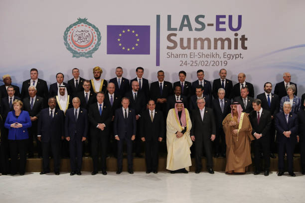 Theresa May Attends The First Arab-European Summit - Day One:ニュース(壁紙.com)