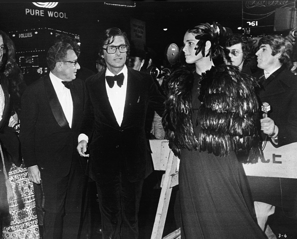 Hollywood - California「Kissinger, Evans, & MacGraw At Godfather」:写真・画像(9)[壁紙.com]