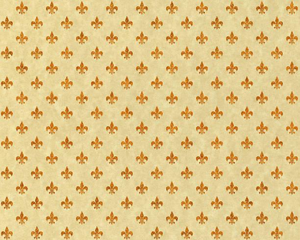 High resolution fleur de lis on beige paper:スマホ壁紙(壁紙.com)