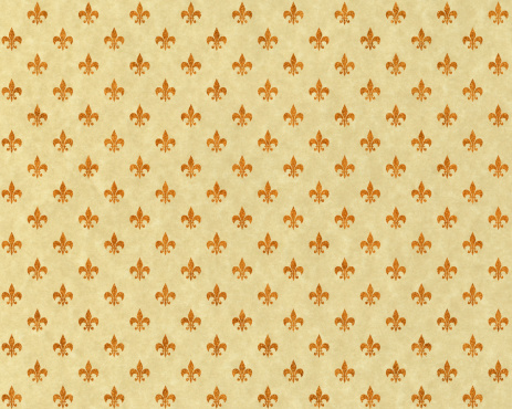 French Culture「High resolution fleur de lis on beige paper」:スマホ壁紙(11)