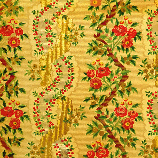 High Resolution Vintage Wallpaper with Flowers:スマホ壁紙(壁紙.com)