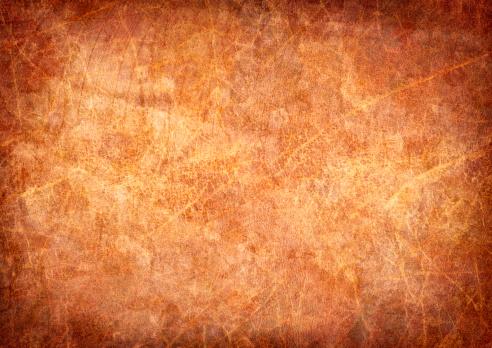 Vellum「High Resolution Antique Animal Skin Parchment Mottled Vignette Grunge Texture」:スマホ壁紙(8)