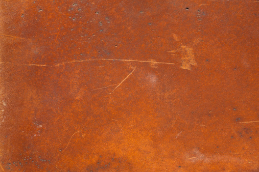 Rusty「A high resolution rusty metal surface with scratch marks」:スマホ壁紙(3)