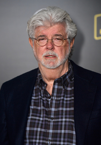 """George Lucas「Premiere Of Disney Pictures And Lucasfilm's """"Solo: A Star Wars Story"""" - Arrivals」:写真・画像(14)[壁紙.com]"""