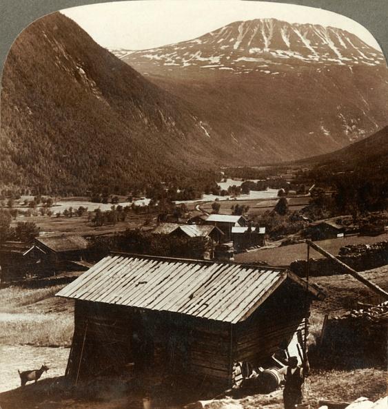 Pasture「Snowy Heights Of Mt Gausta (6180 Ft)」:写真・画像(16)[壁紙.com]