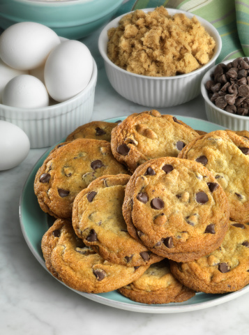 Milk Chocolate「Cookies with Chocolate chips」:スマホ壁紙(9)