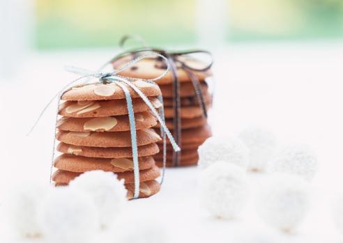 ホワイトデー「Cookies with ribbon」:スマホ壁紙(4)