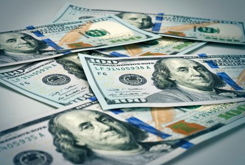 Gray Background「New hundred dollar bill」:スマホ壁紙(15)