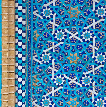 Iranian Culture「Tiled Background」:スマホ壁紙(19)