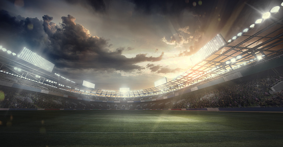 Match - Sport「Sport Backgrounds. Dramatic Stadium. Sport Arena」:スマホ壁紙(0)