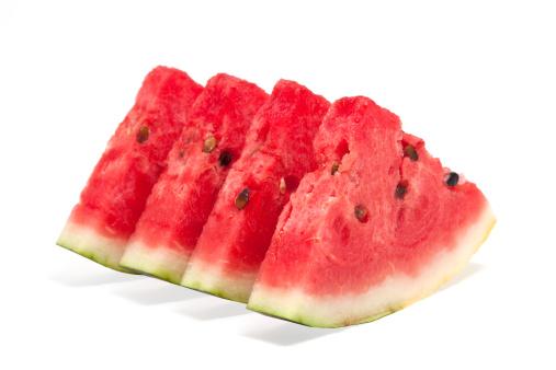 スイカ「Slices of watermelon」:スマホ壁紙(8)