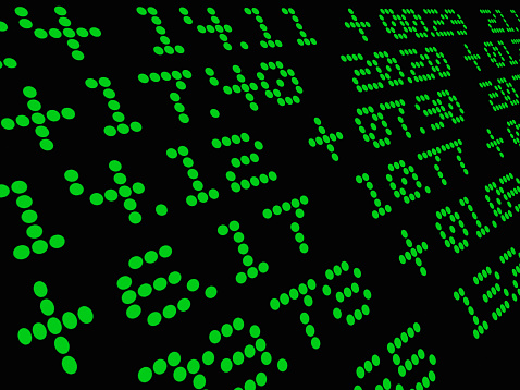 Big Data「Financial Data」:スマホ壁紙(3)