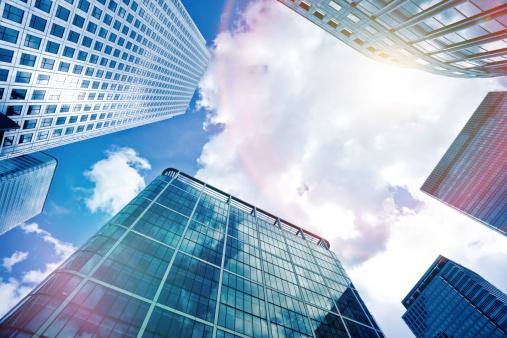 Crystal「Financial District Office Buildings」:スマホ壁紙(0)
