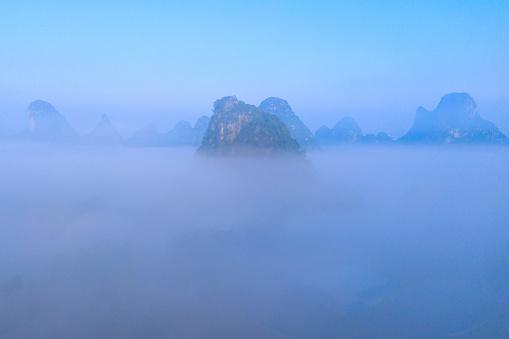 Guilin Hills「Guangxi guilin scenery」:スマホ壁紙(3)