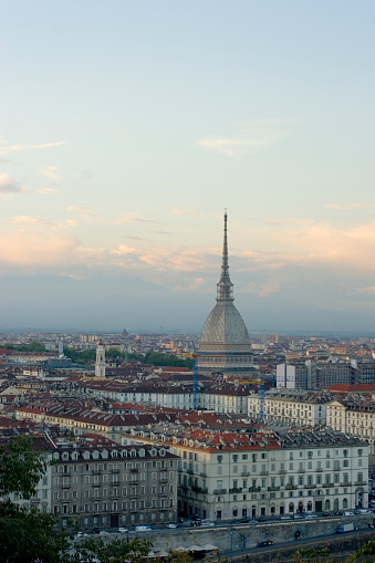 Piedmont - Italy「Turin Skyline」:スマホ壁紙(5)