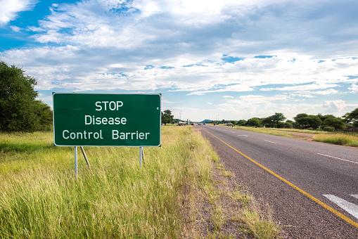 Road Marking「Disease control barrier」:スマホ壁紙(0)