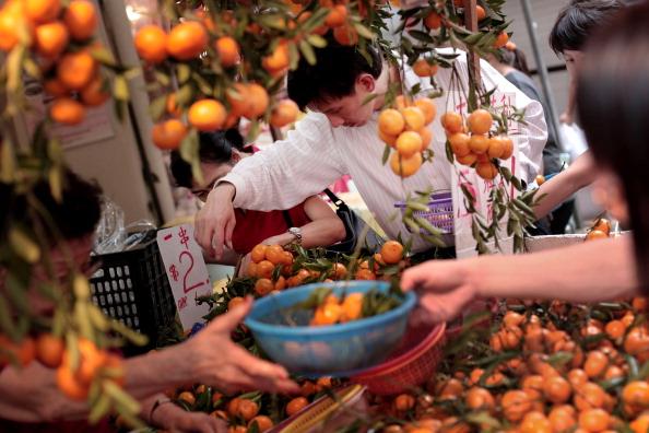 Orange - Fruit「Singapore Celebrates Chinese New Year」:写真・画像(8)[壁紙.com]
