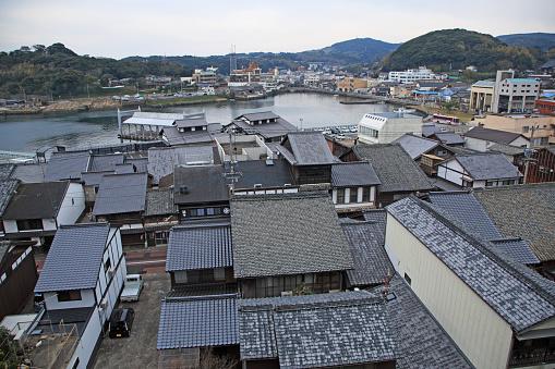 Japan「View of  Hirado City from Sakigata Park, Nagasaki, Japan」:スマホ壁紙(12)