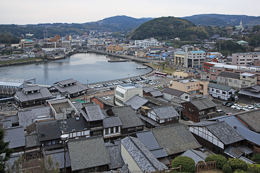 Japan「View of  Hirado City from Sakigata Park, Nagasaki, Japan」:スマホ壁紙(10)