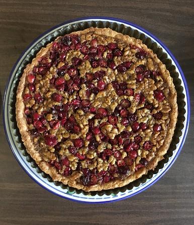 Walnut「Cranberry and walnut tart」:スマホ壁紙(19)