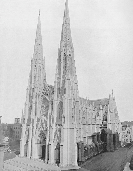 ミッドタウンマンハッタン「St. Patricks Cathedral, 1」:写真・画像(18)[壁紙.com]