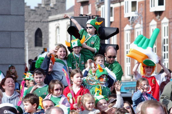 Headwear「St Patrick's Day Parade In Dublin」:写真・画像(14)[壁紙.com]