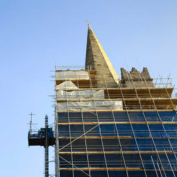 Clear Sky「St Patricks Cathedral renovations, Dublin, Ireland, Dec 2007」:写真・画像(10)[壁紙.com]