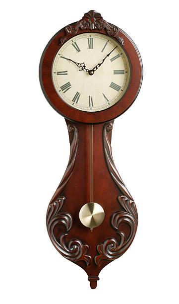 Antique Wall Clock:スマホ壁紙(壁紙.com)