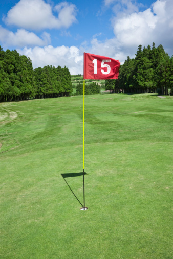 Taking a Shot - Sport「Hole No 15 on Golf Course」:スマホ壁紙(13)