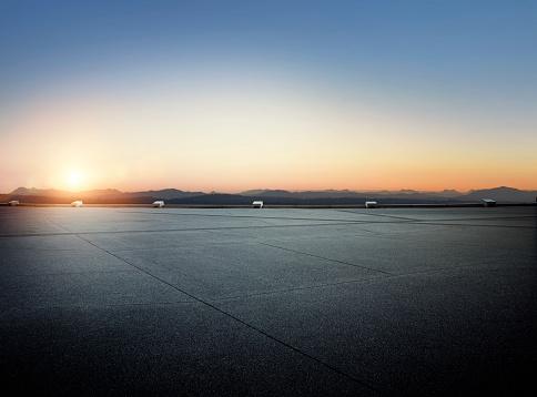 Dawn「Sunset Parking lot」:スマホ壁紙(12)