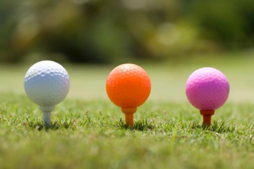 Northern Mariana Islands「Colorful Golf Balls on Tee」:スマホ壁紙(11)