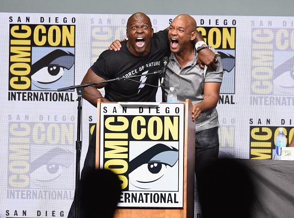 俳優 ウィル・スミス「Comic-Con International 2017 - Netflix Films: 'Bright' And 'Death Note' Panel」:写真・画像(0)[壁紙.com]