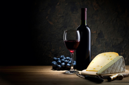 Wine Bottle「Red wine and cheese」:スマホ壁紙(17)