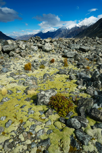 Mt Cook「Rocky landscape」:スマホ壁紙(13)