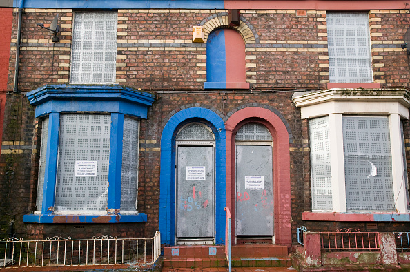 Finance and Economy「Boarded up houses in the Kensington area of Liverpool UK」:写真・画像(14)[壁紙.com]