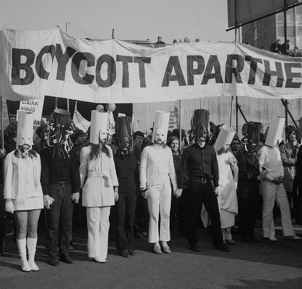 Rugby - Sport「Anti-Apartheid Demonstration」:写真・画像(7)[壁紙.com]