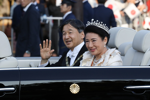 Empress Masako「Imperial Parade For Enthronement of Naruhito In Tokyo」:写真・画像(3)[壁紙.com]