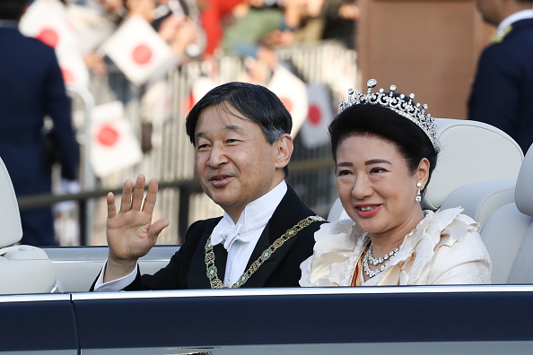 Empress Masako「Imperial Parade For Enthronement of Naruhito In Tokyo」:写真・画像(9)[壁紙.com]