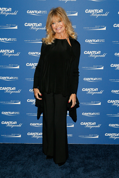 Goldie Hawn「Annual Charity Day Hosted By Cantor Fitzgerald, BGC and GFI - Cantor Fitzgerald Office - Arrivals」:写真・画像(17)[壁紙.com]
