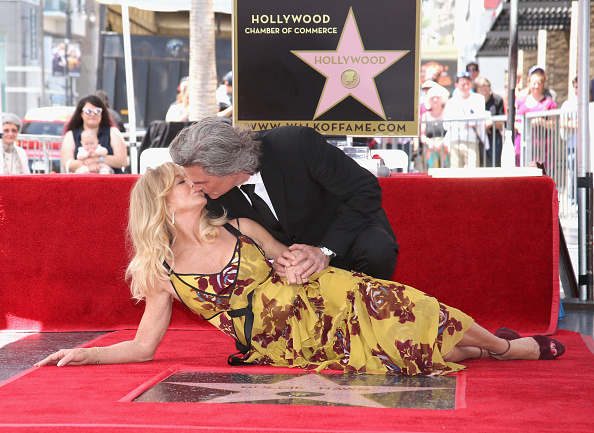Goldie Hawn「Goldie Hawn and Kurt Russell are honored with a Star On the Hollywood Walk of Fame」:写真・画像(7)[壁紙.com]
