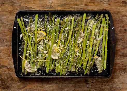 Ketogenic Diet「Preparing, Lemon, Garlic and Parmesan Roasted Asparagus」:スマホ壁紙(13)
