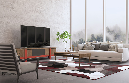 Turkey - Middle East「Interior Design Of The Living Room」:スマホ壁紙(17)