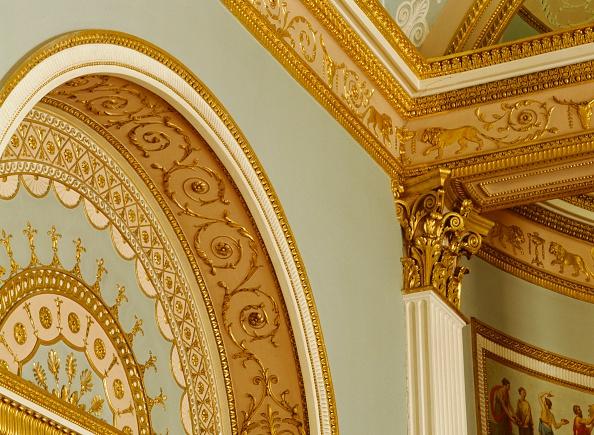 屋内「Interior detail, Kenwood House, Hampstead, London, c2000s(?)」:写真・画像(9)[壁紙.com]