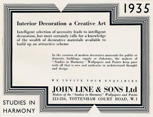 Interior Decoration A Creative Art - John Line & Sons Ltd:ニュース(壁紙.com)