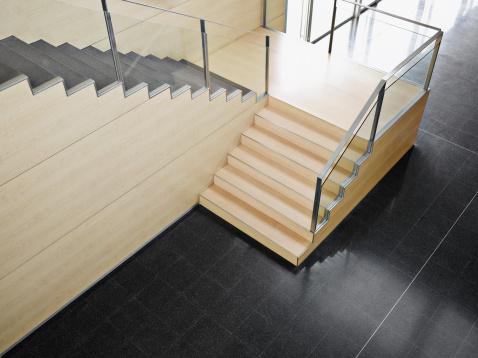 Staircase「Staircase in modern office building」:スマホ壁紙(13)