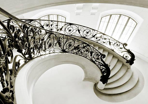 Staircase in Paris:スマホ壁紙(壁紙.com)
