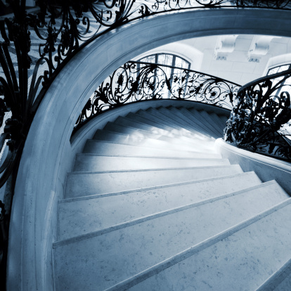 Spinning「Staircase in Paris」:スマホ壁紙(17)