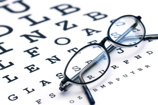 Optometrist「Glasses and eyechart」:スマホ壁紙(5)